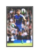 Eden Hazard Autograph Photo Signed - Chelsea
